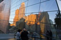 Reflections on the Museum Glass