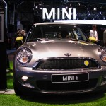 Front View of the Mini E