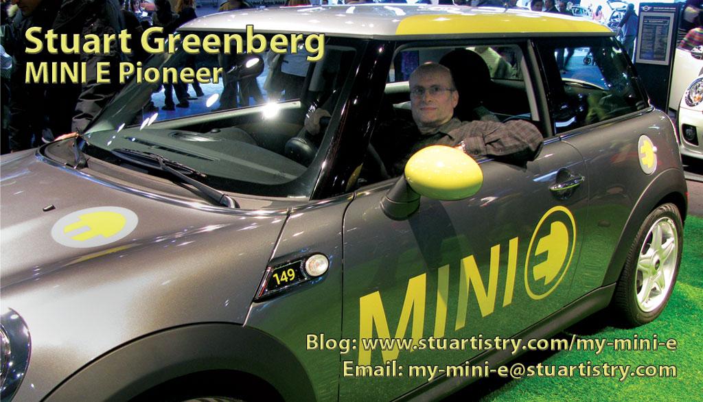 MINI E Pioneer Business Card